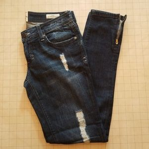 Dylan George Low Rise Skinny Size Zip 26 Jeans
